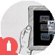 Tablet Hands Sketch - GraphicRiver Item for Sale