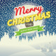 Set of Three Christmas Retro Greeting Cards - GraphicRiver Item for Sale