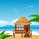 Lodge on Beach - GraphicRiver Item for Sale