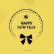 Flat Christmas and New Year Greetings - VideoHive Item for Sale