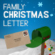 Family Christmas Letter - VideoHive Item for Sale