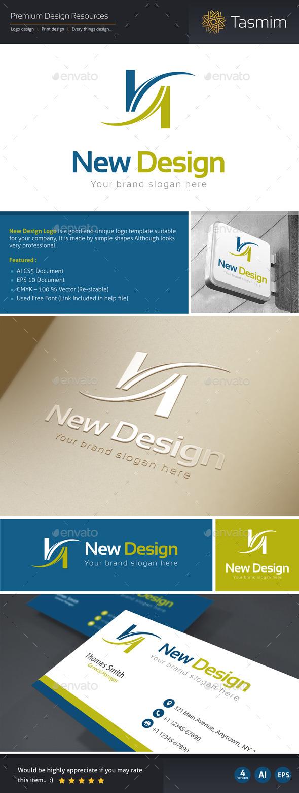 New Design Logo Template
