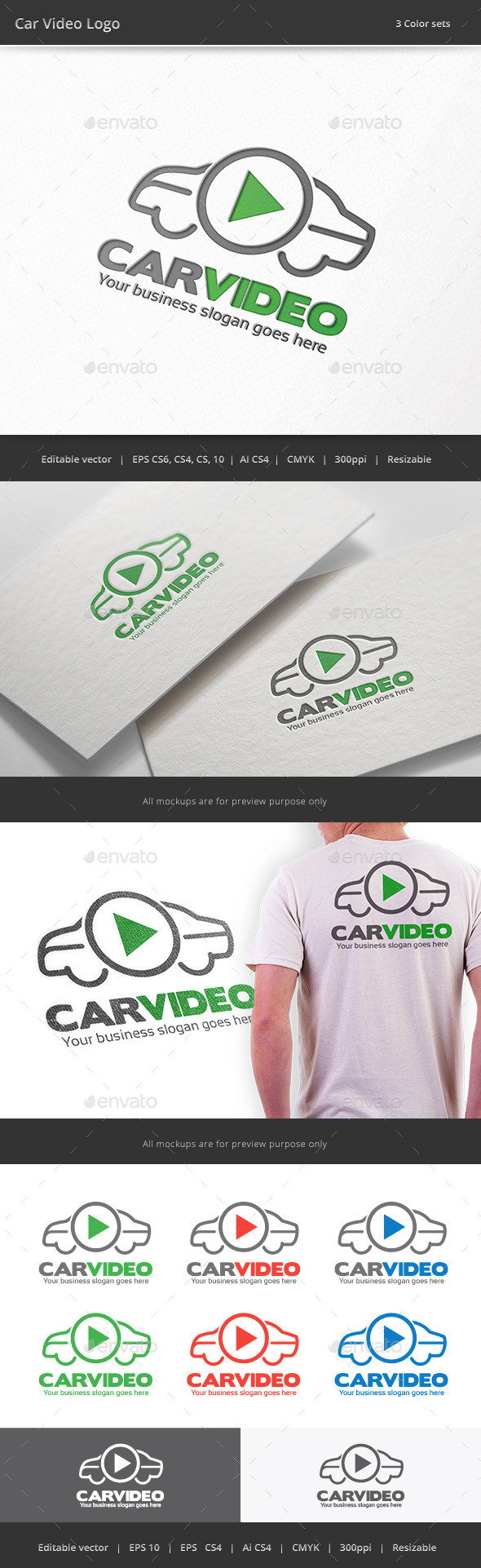 Car Video Logo