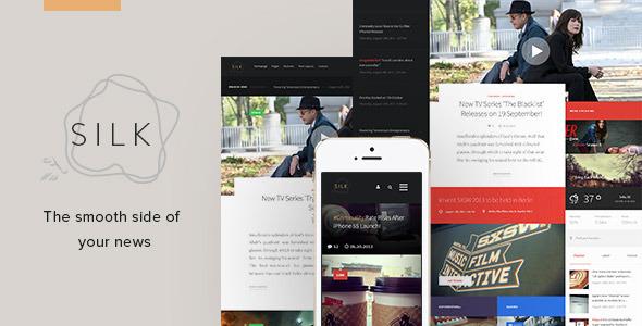 Silk - Creative News HTML Template