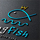 King Fish Logo - GraphicRiver Item for Sale