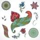 Floral Elements - GraphicRiver Item for Sale