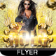 Gold Friday Party Flyer - GraphicRiver Item for Sale