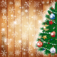 Christmas Background with Tree and Copy Space - GraphicRiver Item for Sale