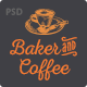Baker & Coffee .PSD Template - ThemeForest Item for Sale