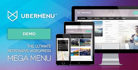 UberMenu - Wtyczka WordPress Mega Menu