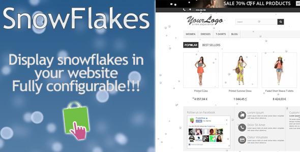 SnowFlakes Prestashop