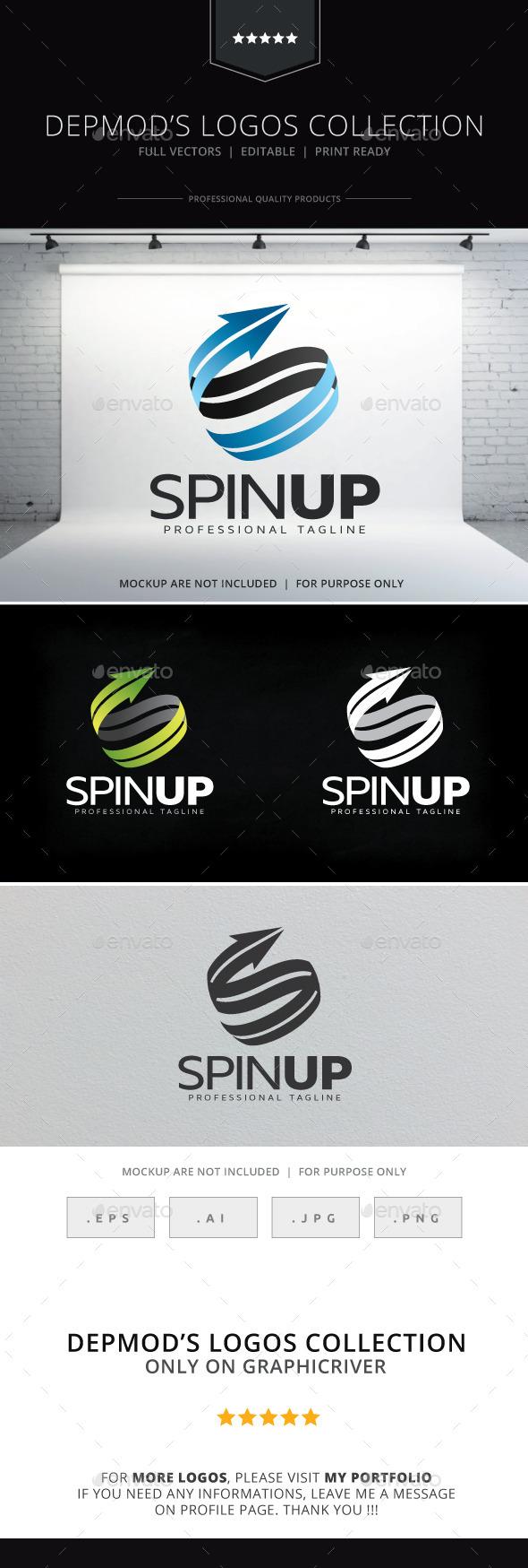 Spin Up Logo