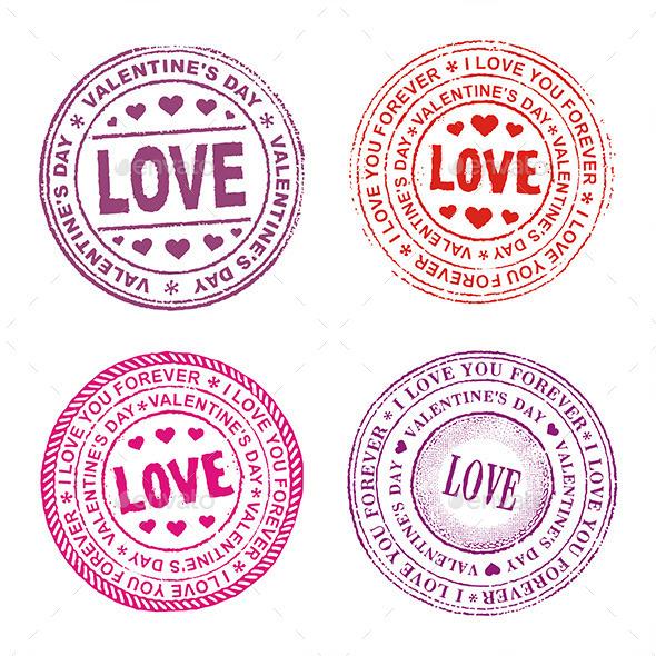 Valentine Day Seal