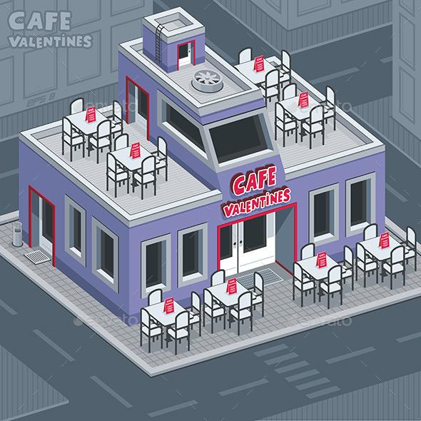 Facade Valentine Cafe