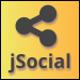 jSocial - Responsive Floating Social Sharing Bar - CodeCanyon Item for Sale