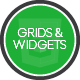 Grids and Widgets - HTML/CSS/JS - CodeCanyon Item for Sale