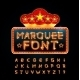 Retro Font - GraphicRiver Item for Sale