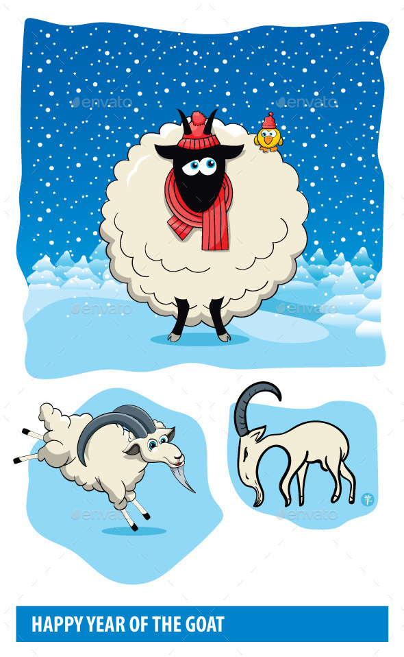 Goat Cartoons