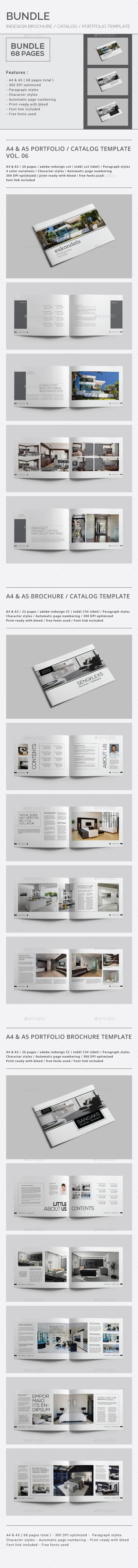 InDesign Brochure Graphics, Designs & Templates