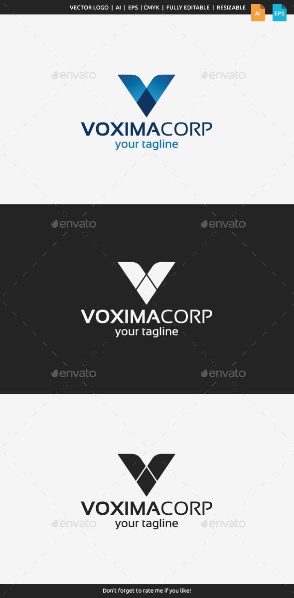 Vaxima Logo - Letter V