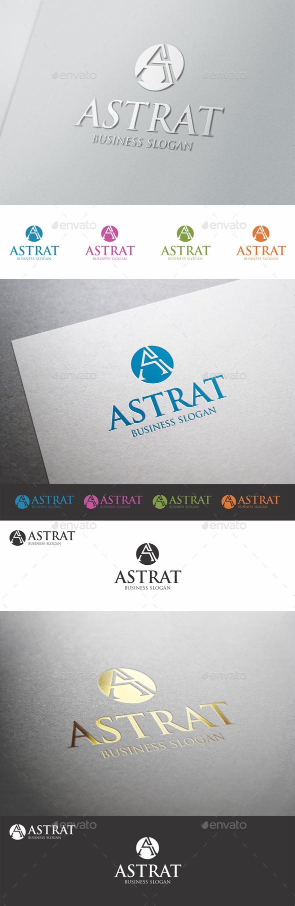 A Creative Logo Letter - Astrat
