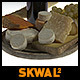 Cheese Board with Bread and Wine - VideoHive Item for Sale