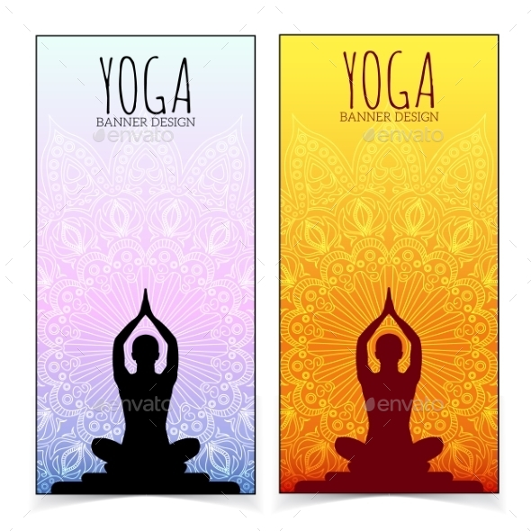 Yoga Banner Graphics Designs Templates From Graphicriver