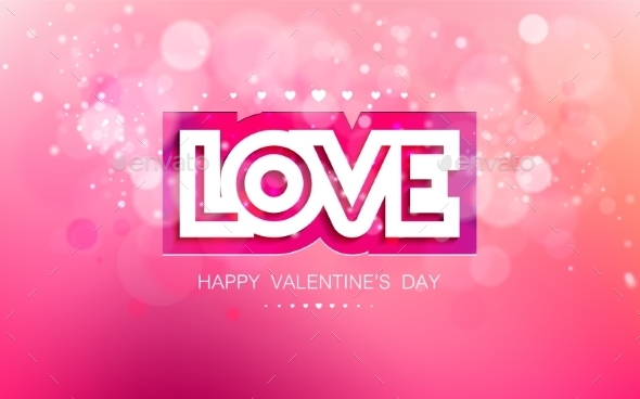 Love in Pink for Valentines