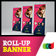 Beauty Care Roll-Up Banner 1 - GraphicRiver Item for Sale
