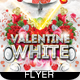 White Valentine Party Flyer - GraphicRiver Item for Sale