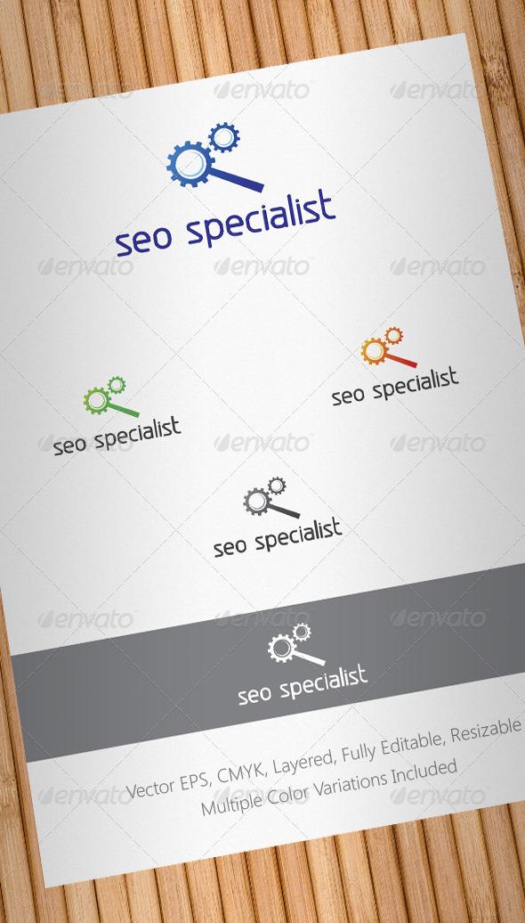 Seo Specialist Logo Template