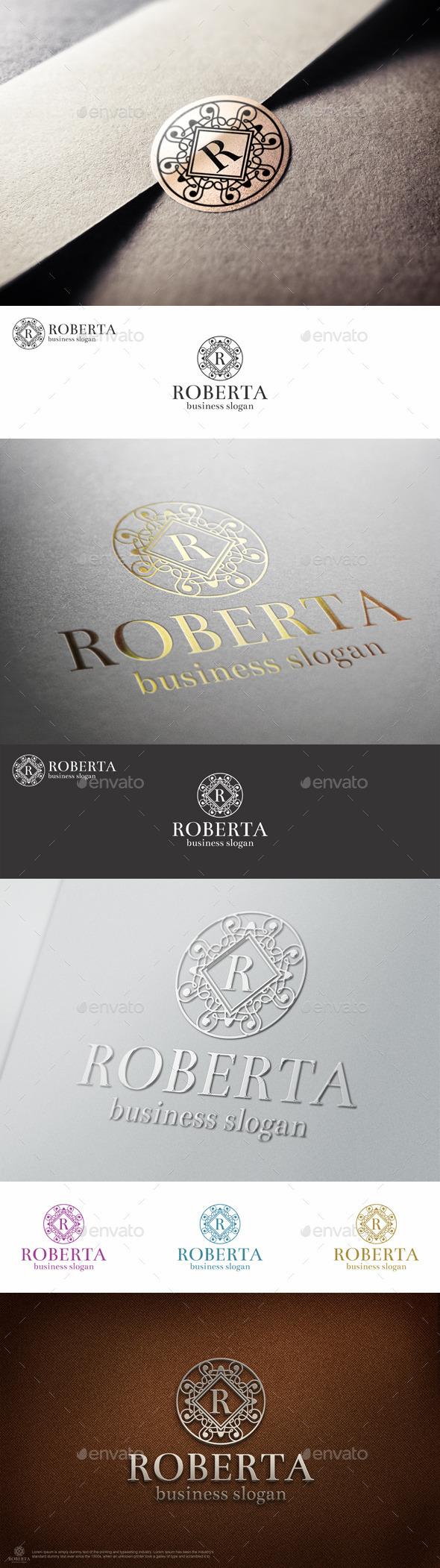 Elegant Boutiqe Letter Crest Logo