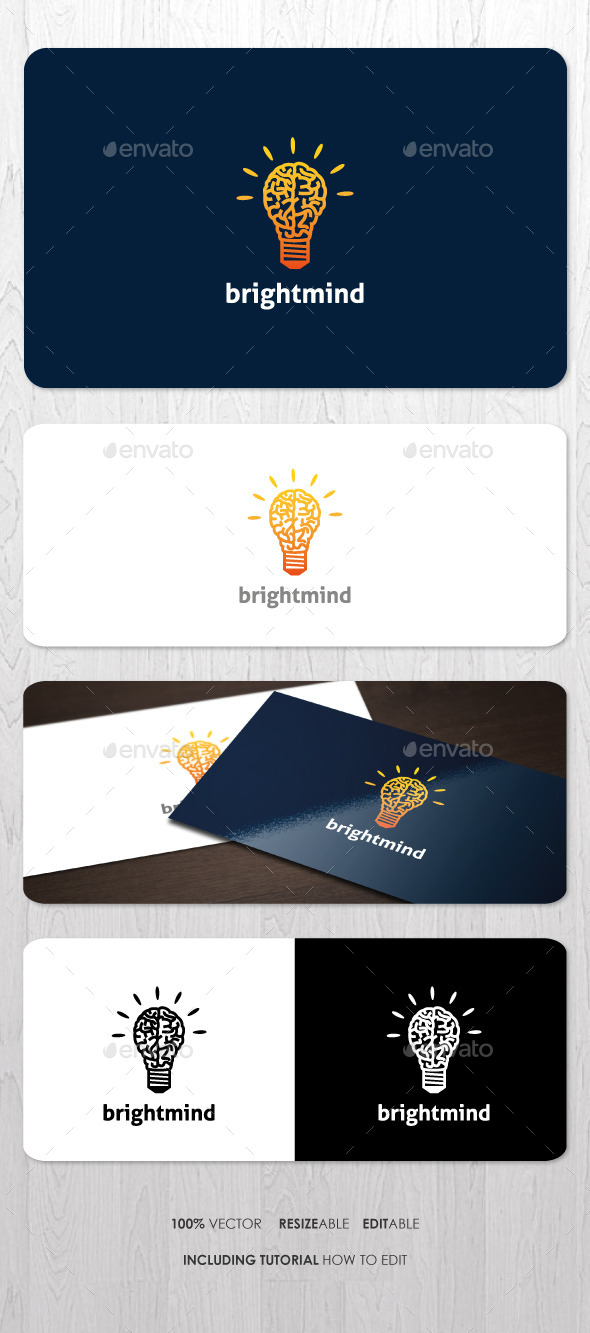 Bright Mind Logo