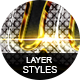 Glossy Layer Styles Vol.3 - GraphicRiver Item for Sale