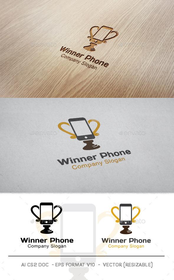 Winner Phone Logo