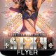 Sexy Deejay Party Flyer - GraphicRiver Item for Sale