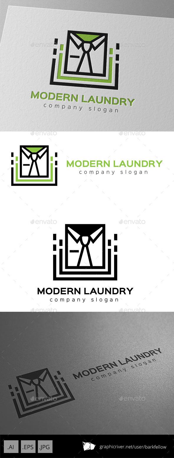 Modern Laundry Logo