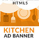 Kitchen Appliances Store HTML5 GWD AD Banner - CodeCanyon Item for Sale
