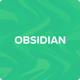 Obsidian Tumblr Theme Premium Blog & Creative - ThemeForest Item for Sale