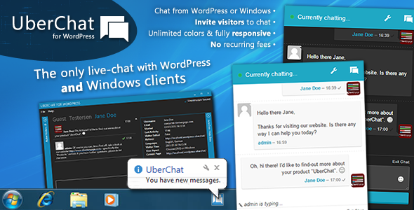 Uber Chat - Ultimate Live Chat with Windows Client Download