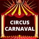 Circus Carnival 3 colour Trifold Brochure - GraphicRiver Item for Sale