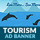 Tourism & Travel 2: Island HTML5 Ad Banner - CodeCanyon Item for Sale