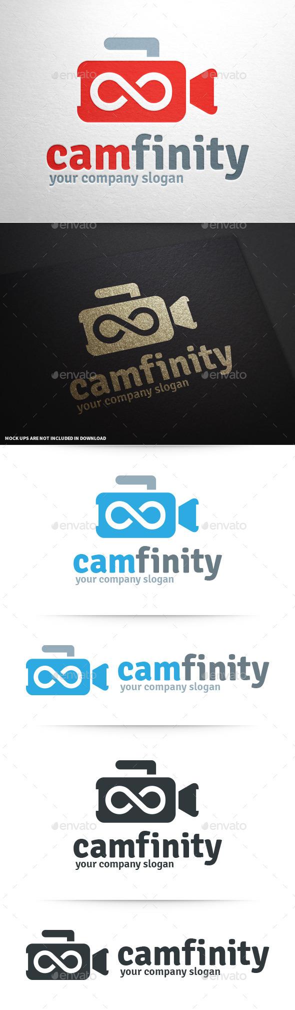 Camera Infinity Logo