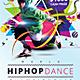 World Hiphop Dance Championship - GraphicRiver Item for Sale