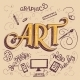 Art Hand-Lettering Card - GraphicRiver Item for Sale