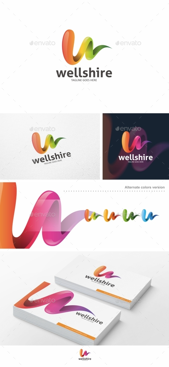 Wellshire - Logo Template