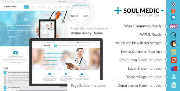 Themeforest | SoulMedic | Hospital & Doctor WordPress Theme Free Download #1 free download Themeforest | SoulMedic | Hospital & Doctor WordPress Theme Free Download #1 nulled Themeforest | SoulMedic | Hospital & Doctor WordPress Theme Free Download #1