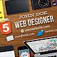Web Designer Facebook Timeline Cover - GraphicRiver Item for Sale