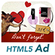 Ad HTML5 Template | Valentine's Day - CodeCanyon Item for Sale
