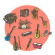 Music Instruments  - GraphicRiver Item for Sale